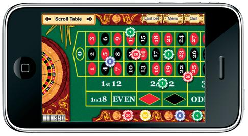 casino games on iphone